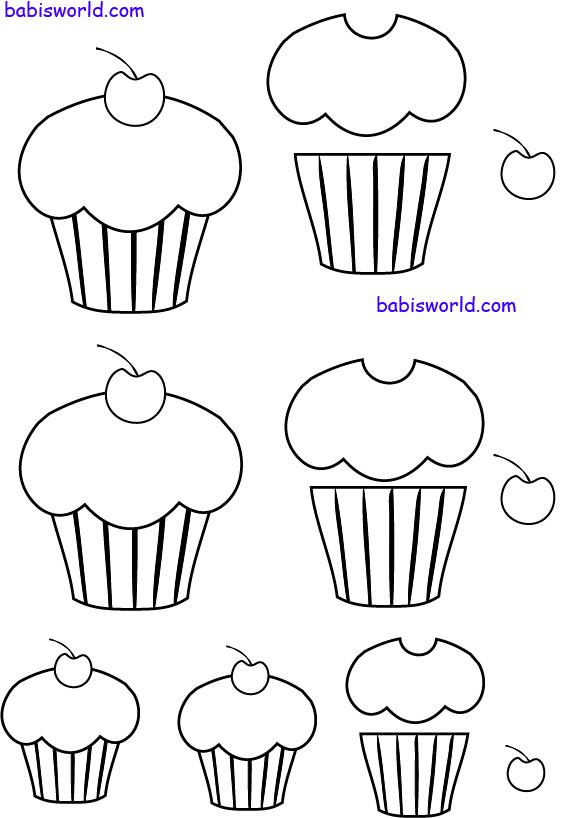 moldes de cupcake
