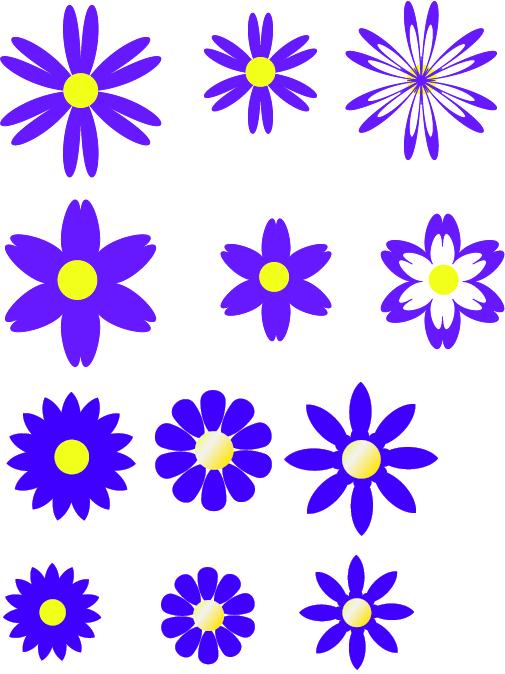 free moldes de flores em formato pdf no babisworld.com